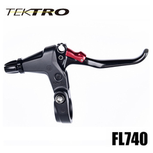 TEKTRO FL740 Lever 164g/Pair Racer Road Bike Forged Aluminum Lever 3 Finger Lever  With Caliper Canti Brake Rapidfire Shifter