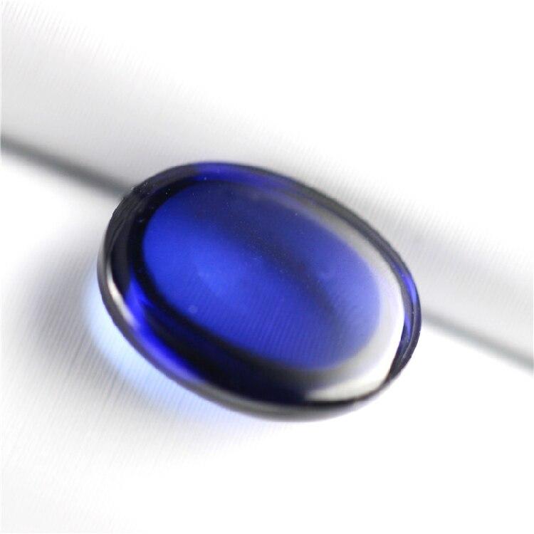 """Belle 13x18mm Naturel Bleu Aigue-marine gemme ovale perles Collier 18 /""""AAA"""
