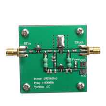 NEW 1-930MHz 2W RF Broadband Power Amplifier Module for Radio Transmission FM HF VHF 48x48x13mm Circuits Amplifier Modules