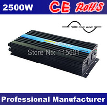 High Quality Solar Panel Inverter Wind Power 12Vdc  to  220Vac 2500W Inverters