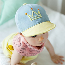 Baby Boy Girl Letter Printed Baseball Cap Infant Baseball Snapback Cap Hat New(China)