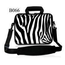 "Zebra Stripes 10"" 10.1"" Laptop Shoulder Bag Case For Tablet iPad Air 2 6th, Air 5th +Cover/Samsung Galaxy Note 10.1"" N8000"