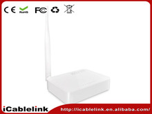 Wireless-n wifi repeater wireless wifi roteador 4 Ports 150Mbps Router with 5dBi Antenna Fixed Omni Directional single Antenna