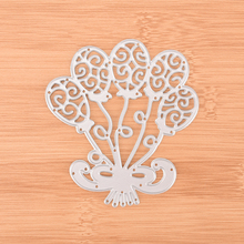 Balloons Cutting Dies Stencils DIY Paper Cards Making Crafts for DIY Scrapbooking Photo Album Decorative Embossing(China)