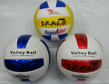 New Arriver Profession Official Game Volleyball Size High Quality Size 5 PU leather Volleyballs Training Ball Free Shipping