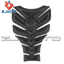 ZJMOTO 3D Rubber sticker Motorcycle sticker Fuel Gas Tank Pad Protector Tank decals sticker For all KAWASAKI Z750 Honda CBR400