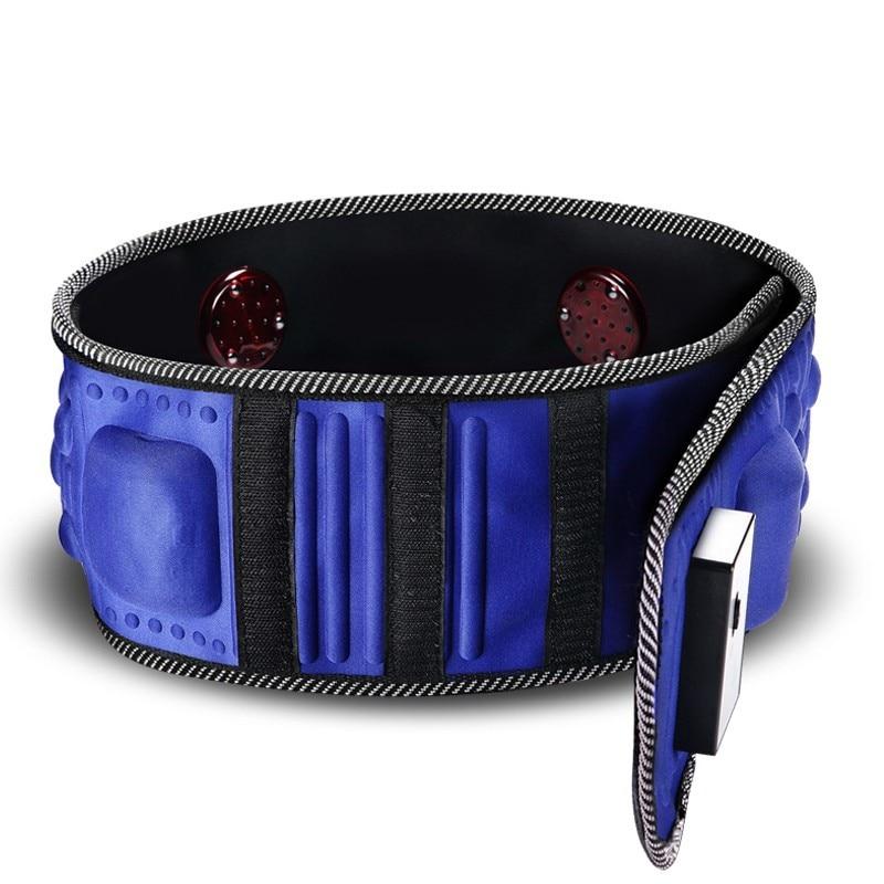 GPYOJA Reduce Weight Thin Waist Belt X5 Times Vibration Massage Burning Fat Lose Weight Shake Shake Belt Slimming Belts<br>