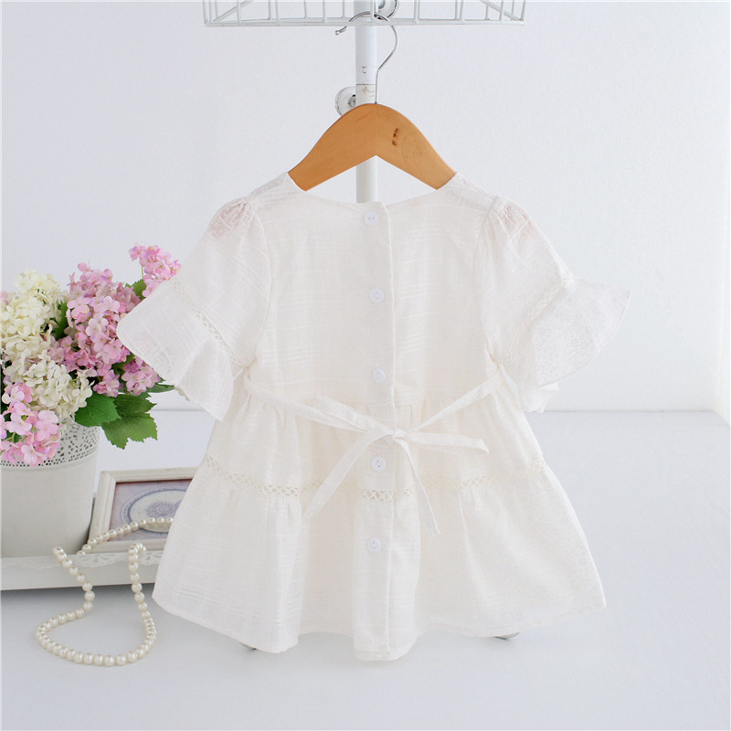 afe16a9ec4c3 2019 Baby Girl Dress Lace Infant Baptism Birthday Party Dresses ...