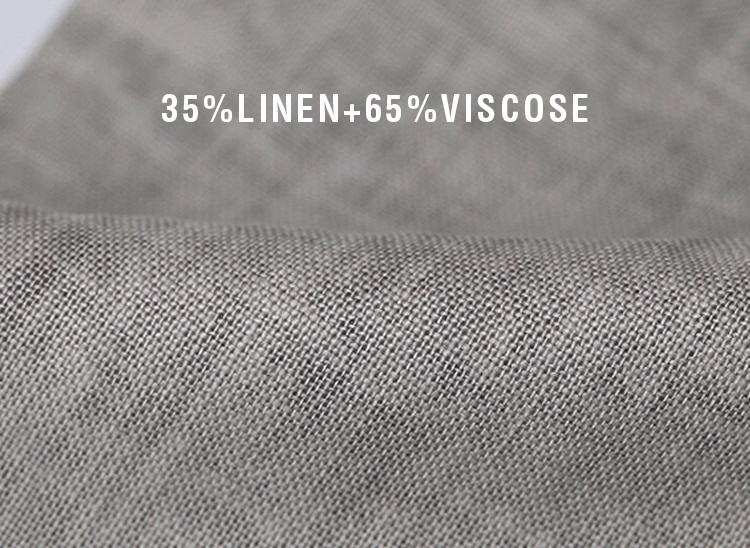 Markless Thin Linen Men Pants Male Commercial Loose Casual Business Trousers Men's Clothing Straight Fluid Man Pants 2