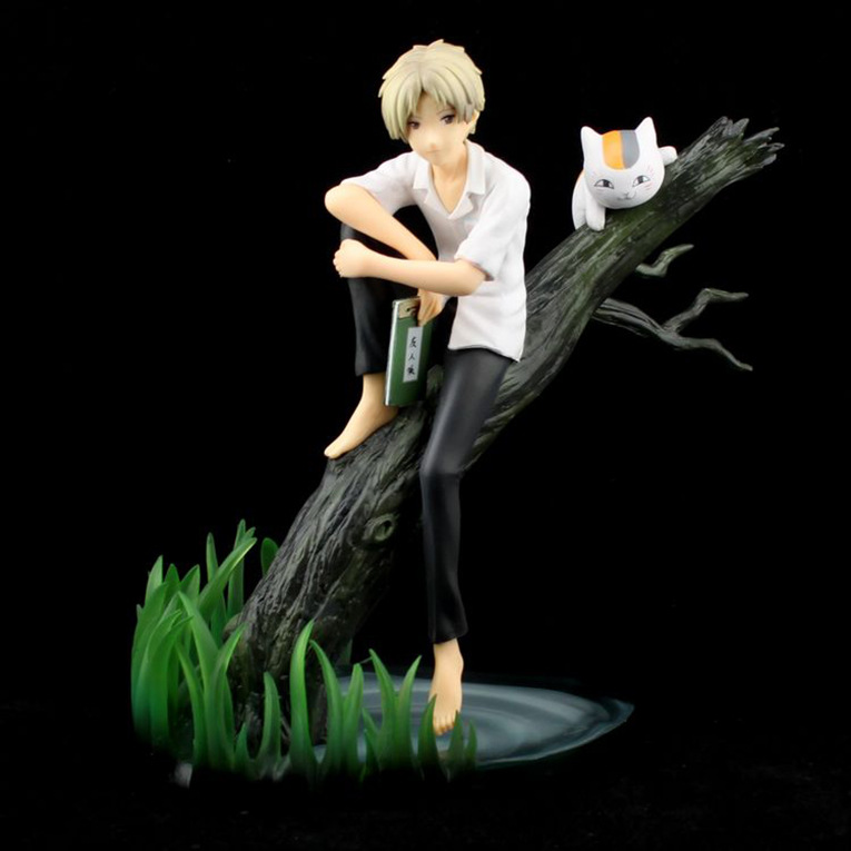 2017 New 1Set 20CM Anime Natsume Yuujinchou and Cute Nyanko Sensei PVC Action Figure Model Toys<br><br>Aliexpress