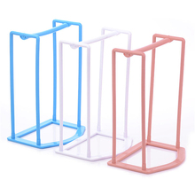 1Pc 4 Colors Practical Plastic Clothes Hanger Stacker Holder Storage Organizer Rack Stand Sorting Travel Home Household Tools