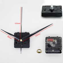 Rhythm Plastic quartz clock movement Silent Movement sweep mechanism with Black Long hands DIY Clock Accessory Kits(China)