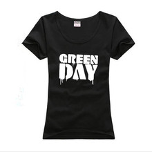 2017 New summer design Man Tshirt Famous band Green Day printed Tops&Tees T shirt Rock Hip Hop T shirt fashion picture