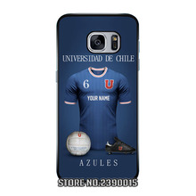 Custom Jersey UNIVERSIDAD DE CHILE Cover Case for Samsung Galaxy S3 S4 S5 mini S6 S7 edge plus active Note 2 3 4 5 7 Silicon
