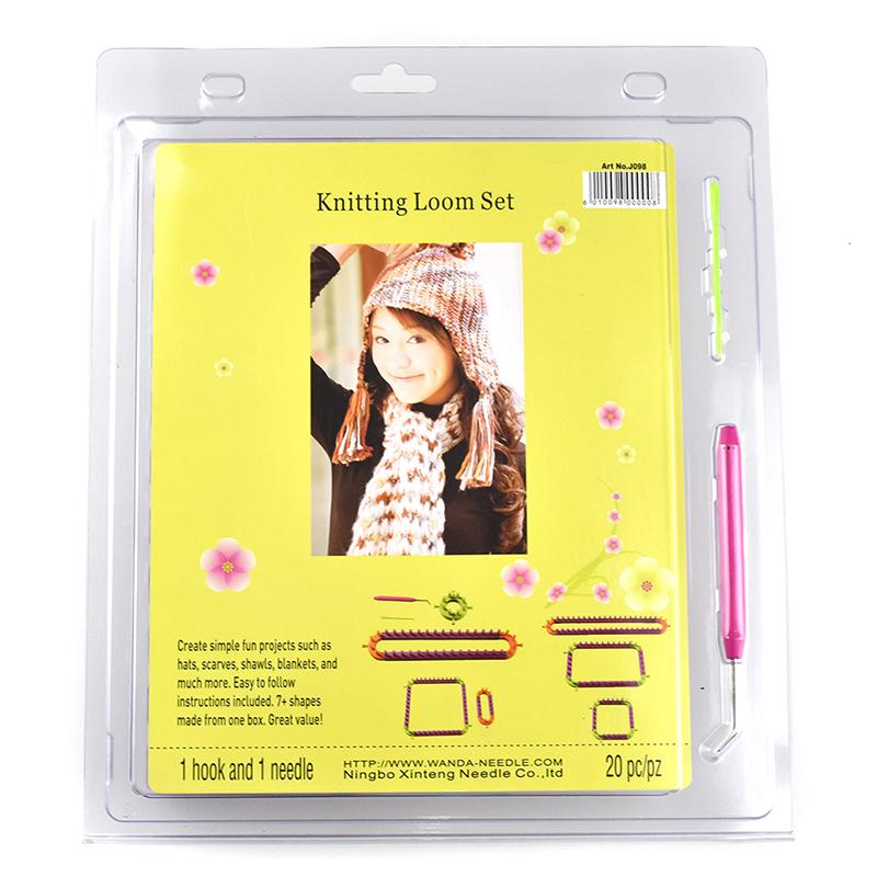 Multifunction Scarf Knitting Machine Knitting Loom DIY Child Educational Knitting Woven Scarves Hats Socks Set Children Tools (10)