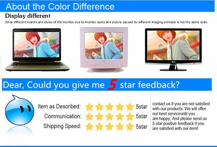 color and feedback -
