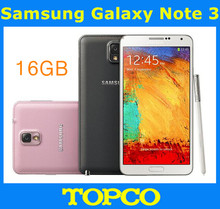 "Samsung Galaxy Note 3 N9005 16GB Unlocked Original Andriod Mobile Phone Quad core 5.7"" 13MP WIFI GPS 3G&4G GSM SM-N9005 16GB ROM"