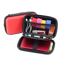 Headphone Carry Bag Hard for Power Beats PB In-Ear Earphone Pouches Storage Cases Black Box Red Color(China)
