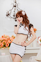 New COSPLAY Chinese Split cheongsam dress  Sexy lingerie women costumes Sex Products toy Sexy underwear Role play