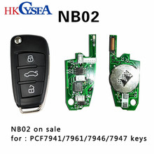 HKCYSEA New KD NB02 NB Series Remote Car Key For For KD900/KD900+/URG200 Key Programmer,5pcs/lot(China)