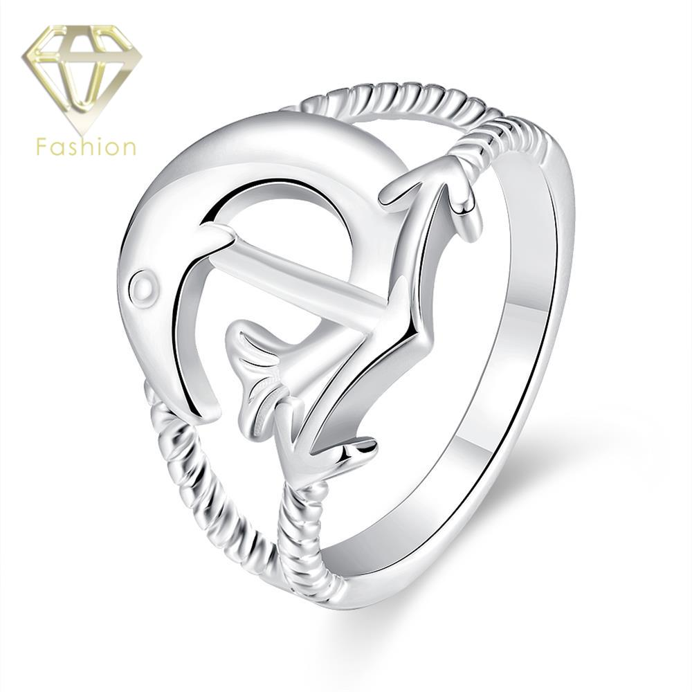 Tacori Wedding Rings New Design Cupid's Arrow Silver Plated Love Ring  Romentic Jewelry For Pursuit Happiness Women