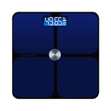 Hot 180kg Golden Blue Backlight LED Bathroom Scales Floor Slectronic Digital Balance Household Weight Scale Smart Floor Scales