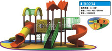 CIT14-B0234 kids outdoor playground equipment / children playground plastic slide