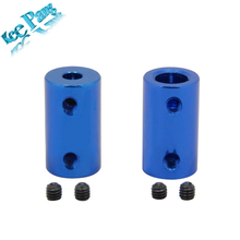 Aluminum Alloy Coupling Bore 5mm 8mm 3D Printers Parts Blue Flexible Shaft Coupler Screw Part For Stepper Motor Accessories(China)