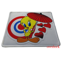 2015 Hot tweety cute bird funny love umbrella kid gaming mouse pad gel mouse pad notebook mouse pad free shipping jsh-pad0083