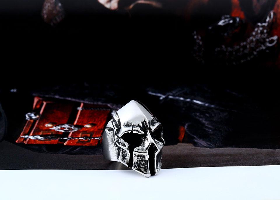 แหวนโคตรเท่ห์ Code 022 แหวน Spartan Warriors สแตนเลส4