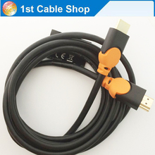 High speed HDMI cable 6ft 1.8M with Ethernet hdmi 1.4V 4kX2k 3D full HD1080P for Wii PS4 Xbox STB shielded(China)