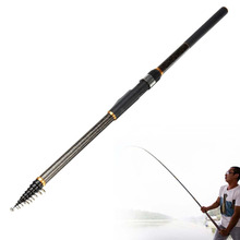 Vitoki 3.6M 4.5M 5.4M 6.3M Carbon Spinning Portable Telescopic Fishing Rod Power  Fishing Rod Telescopic Surf Spinning Rod