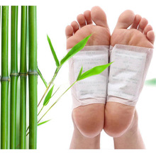 10 pcs Herbal Detox Foot Pads Patches Feet Care Medical Plaster Foot Remover Relieving Pain Foot Massager(China)