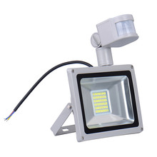Wholesale Cheap 30w 220v Street Square Led Lamp Light Flood Lights Courtyard Wall Waterproof Spotlights Outdoor Lamps Lighting(China)