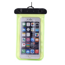 New Sport Swimming Universal Smartphone Case Bag Waterproof Dry Mobile Phone Bags Transparent 6 Colors For IPhone 7 Cellphone