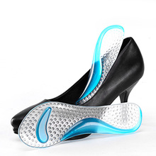 feet care tool Gel Massage Arch Support 3/4 Insoles Orthotic Flatfoot Prevent Foot Cocoon Painful Women High Heels Shoes Pad
