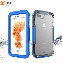 Waterproof swimming Diving Case For iPhone5 5S SE 6 6S 6Plus 7 7Plus TPU 10m Deep Water/Dirt/Shock Proof Phone Cover For iPhone