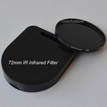 72 72mm IR Infrared Infra-Red Filter 720nm For Nikon D60 D70 D70S D80 D90 D300 D600 D610 D700 D700S D750 D800 D800E Camera Lens(China)