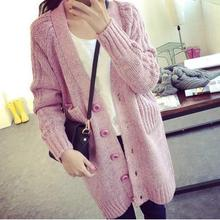 2017 new autumn winter maternity sweater plus  size long pregnant women cardigan SH-865JYF