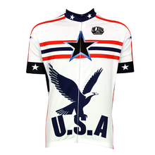 2017 bike jerseys U.S.A Global Hawk Alien SportsWear Mens Cycling Jersey Cycling Clothing Bike Shirt Size new