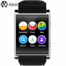 KINCO Smart Watch Phone 1.54 inch MTK6580 4G+512MB Bluetooth SIM Card 3G WIFI GPS Camera Video Call Bracelet for IOS/Android(China)