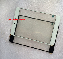 8 New  Tablet pc for Haier G801 Capacitive touch screen panel  Digitizer  Glass Sensor
