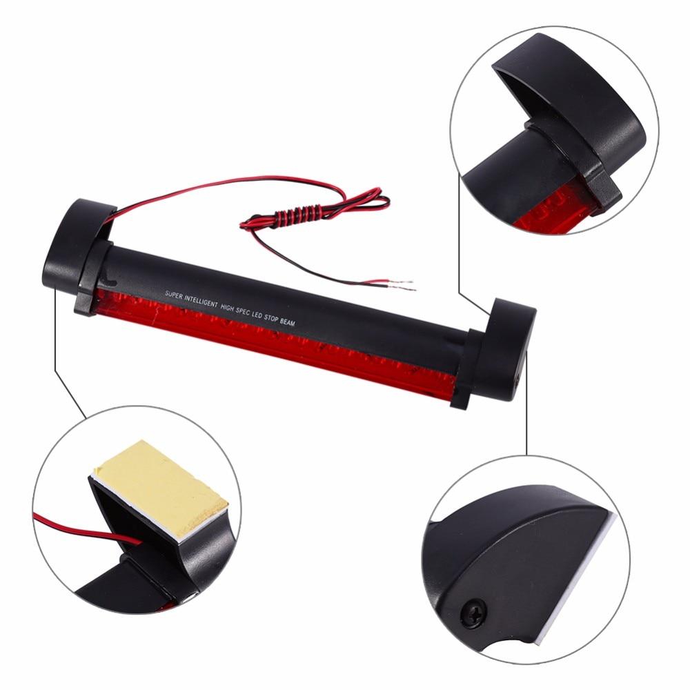Car-Styling 24 LED Vehicle Car Additional Brake Light Stop Tail Warning Light Rear Brake Light Lamp 12V Red