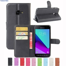 PU Leather Pink Case For Samsung Galaxy Xcover 4 G390F Flip Stand Cover Wallet with Magnetic Closure Protect New