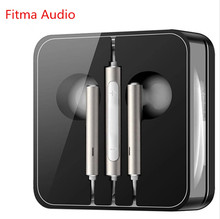 Fitma Audio AM116 3.5mm In-ear Earphone Huawei Earbuds with Microphone for PC Huawei 5C P6 P7 P8 Lite P7 Android Phones(China)
