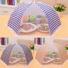 6 Patterns Food Umbrella Mesh Cover Pop Up Dome Mesh Fly Wasp Insect Net Kitchen Outdoor BBQ Camping Food Protector Kitchenware