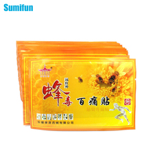 20Pcs Sumifun Chinese Medicated Patch Bee Venom Neck Back Massage Relaxation Killer Body Massager Plaster Tiger Balm C328