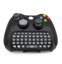 Newest Wireless Messenger Chatpad Keyboard Keypad Text Pad for Xbox 360 Xbox360 Controller Black