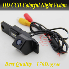 New Free shipping Wired for VW Lavida Car reverse Camera 170 degree Night vision HD CCD rear view back up Security waterproof(China)