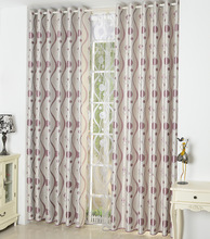 FYFUYOUFY modern simple striped printed curtain living room bedroom Double jacquard Shading cloth curtain Smooth curtain